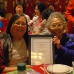 Patty Wong & her mom