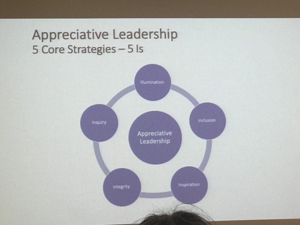 Appreciative Leadership